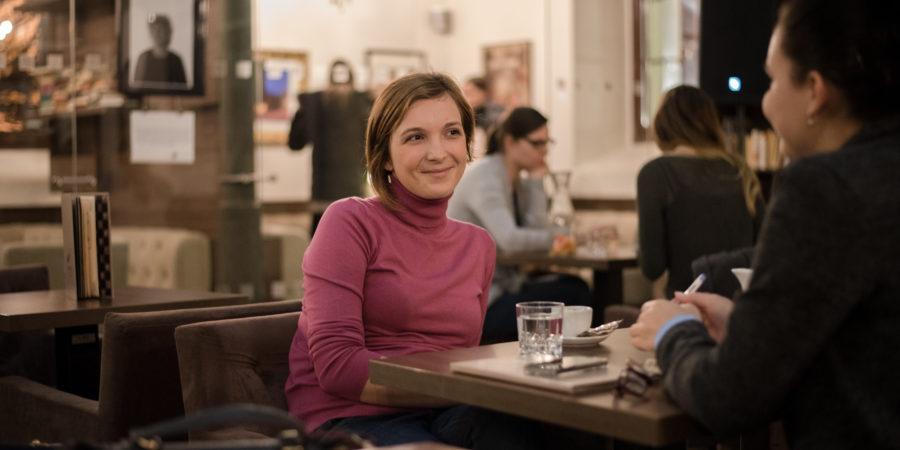 Michaela Terenzani : Myslím, že štúdium žurnalistiky má význam.