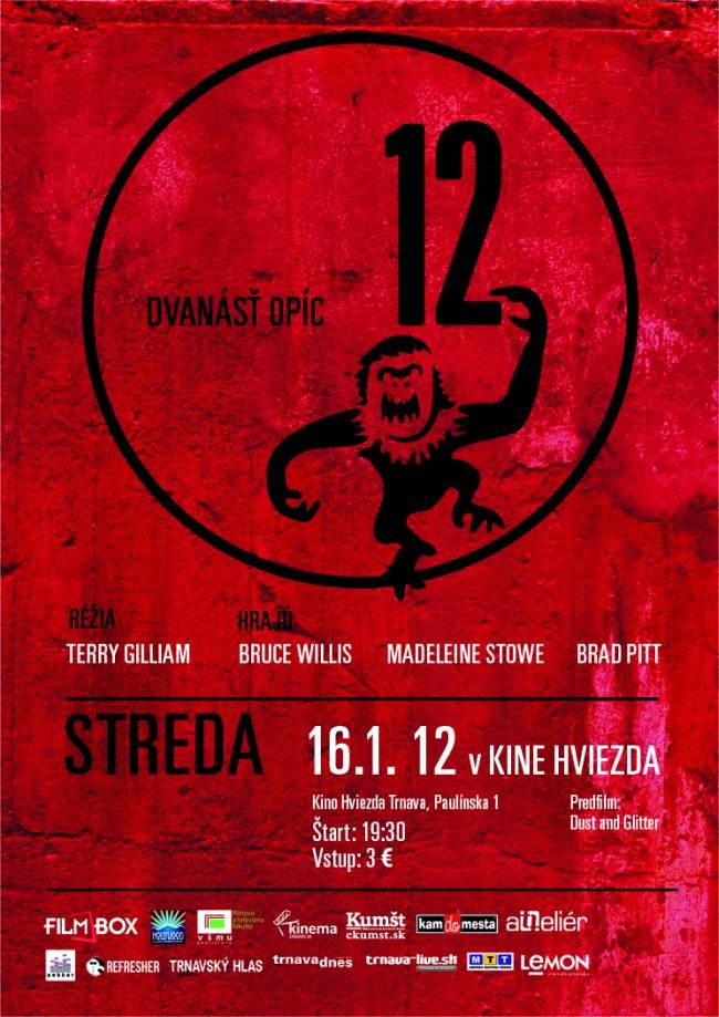 12 opíc