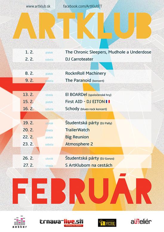 Artklub program február 2013