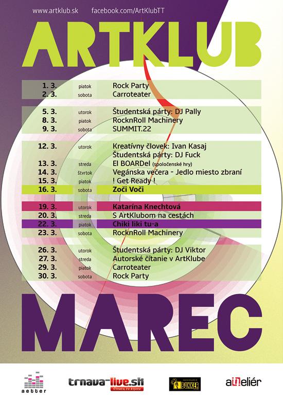 ARTKLUB program MAREC