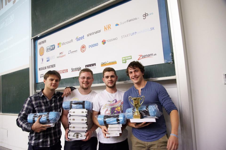 Víťazi Startup Weekendu Bratislava 3