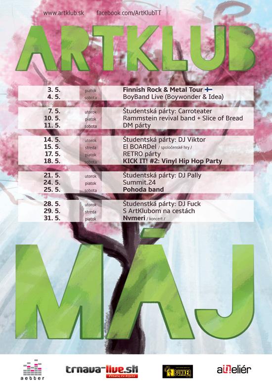 ARTKLUB máj 2013