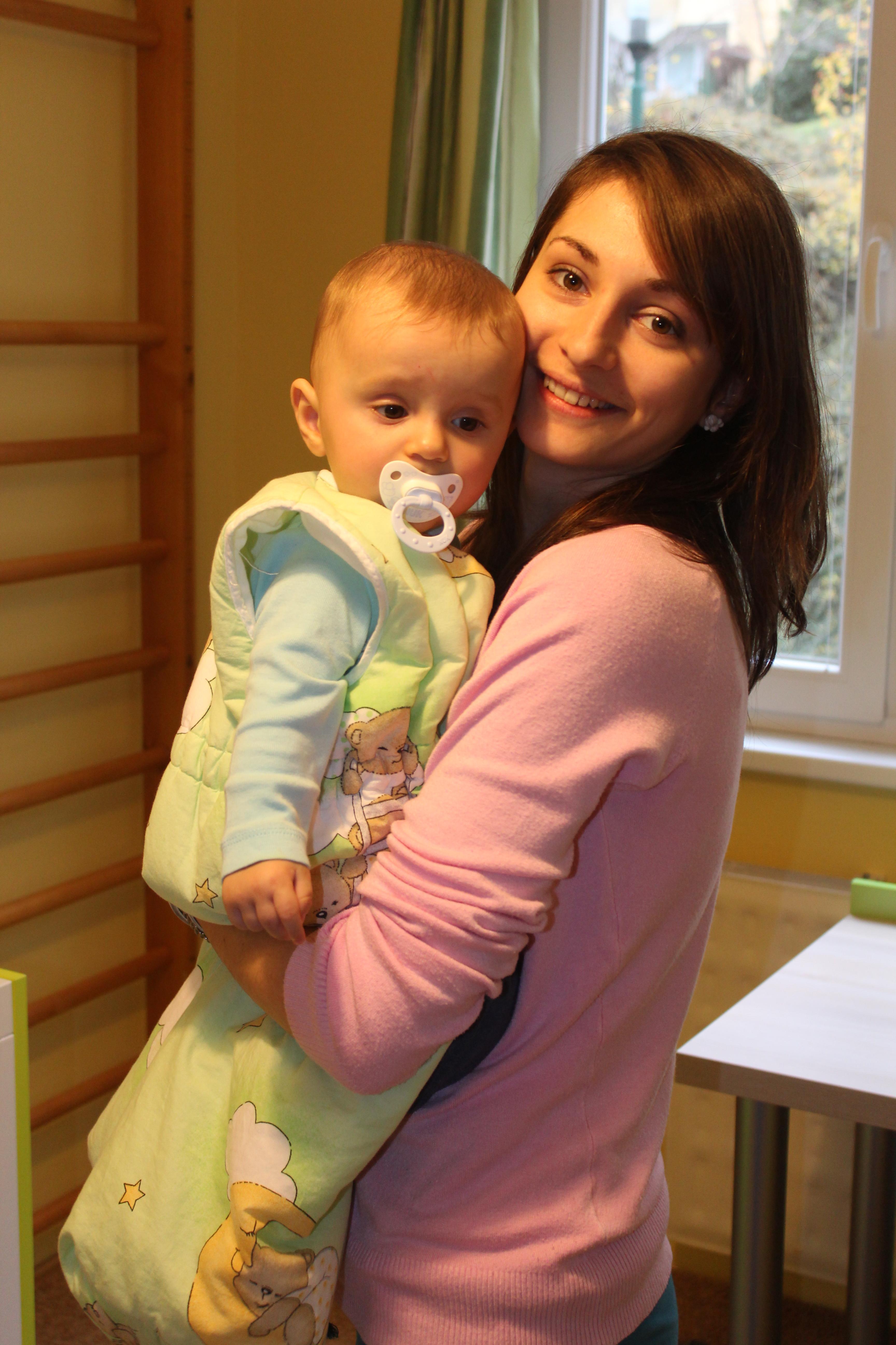 Už osem mesiacov ju na plno zamestnáva starostlivosť o malého Matúška