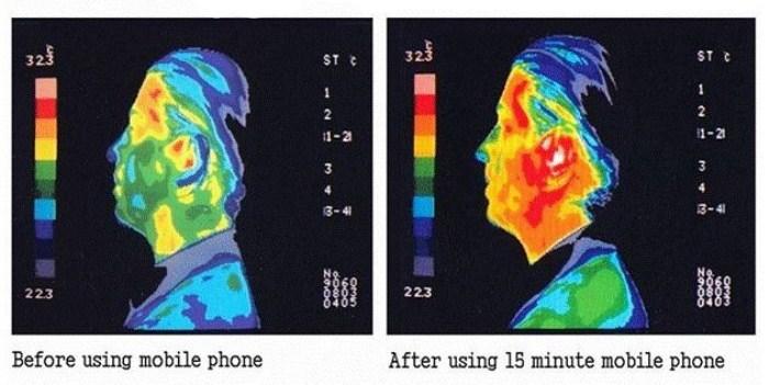 Takto sa zvýši teplota vášho tela po 15 minútovom hovore.