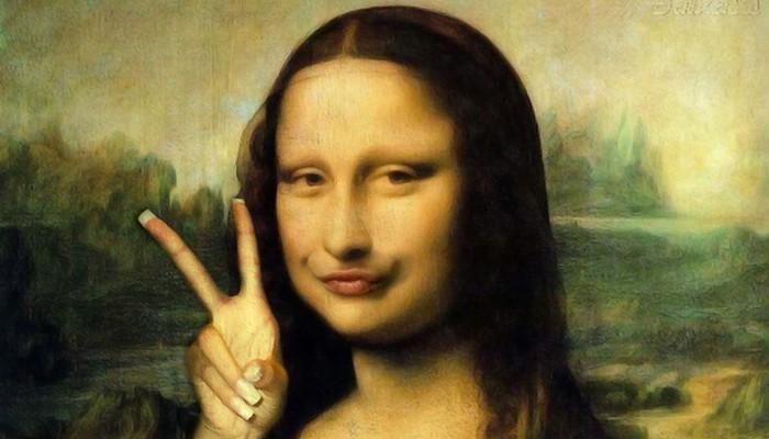 Ktovie, ako by portrét Mony Lisy vyzeral, keby ho vytvorili dnes.