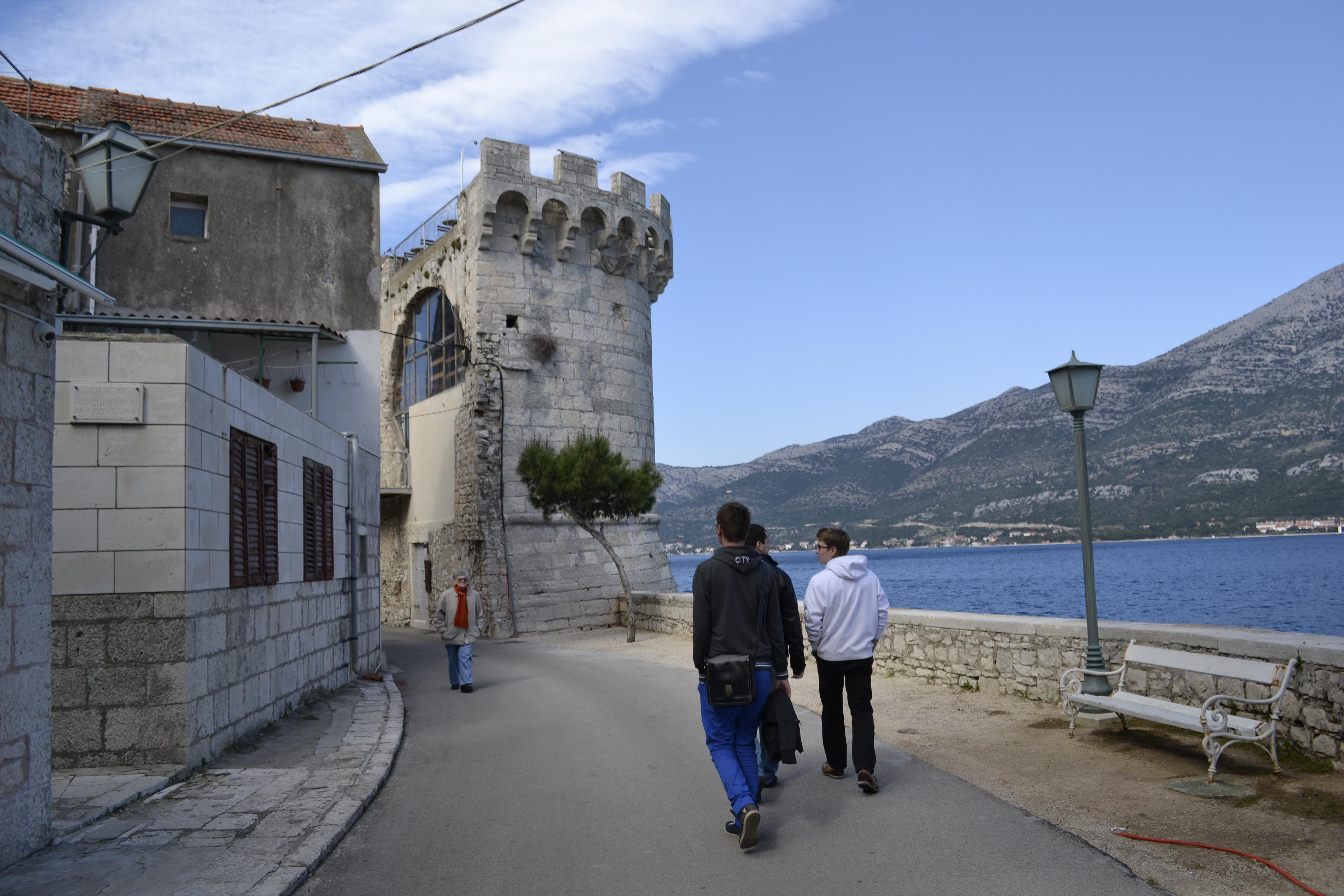 Turistické miesta v chorvátsku mimo sezóny zívajú prázdnotou. Boli sme jediní turisti široko ďaleko.