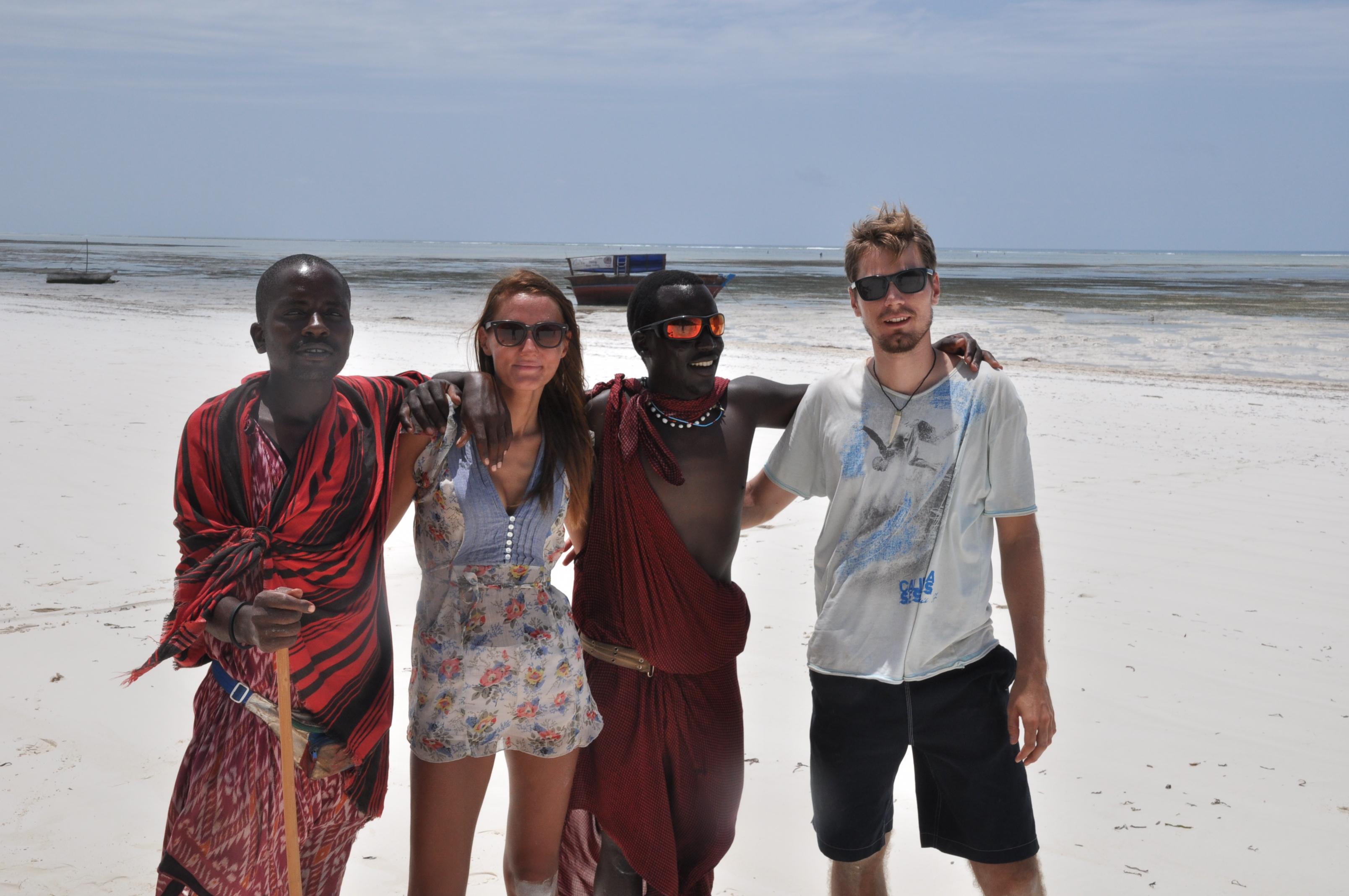 Keď v Tanzánii nemôžeš skrývať, že si beloch
