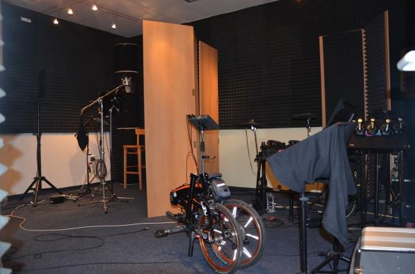 Zvukové štúdio, kde sa nahrávajú džingle, ale aj piesne.