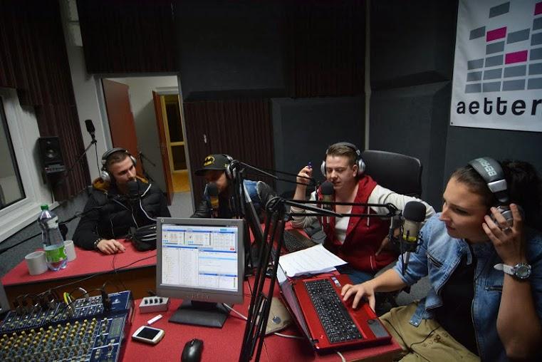študentské rádio Aetter