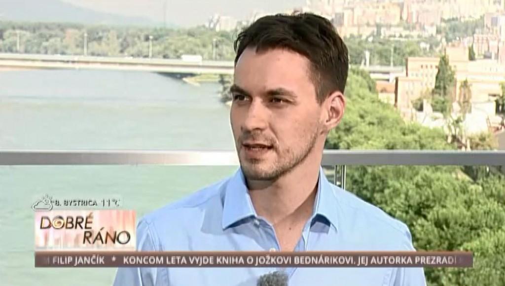 """""""V relácii Dobré ráno v TV JOJ."""""""