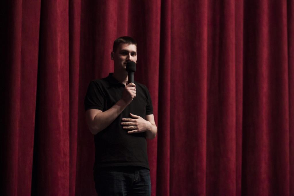Dano Čistý pobavil aj jedinečným prejavom.