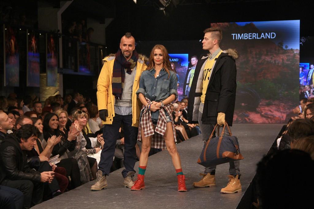 Modely od Timberlanda predviedli viaceré známe tváre