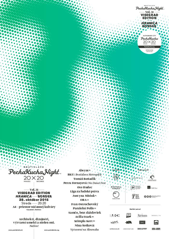 PechaKucha Night Bratislava Vol. 31: O hraniciach okolo, aj v nás