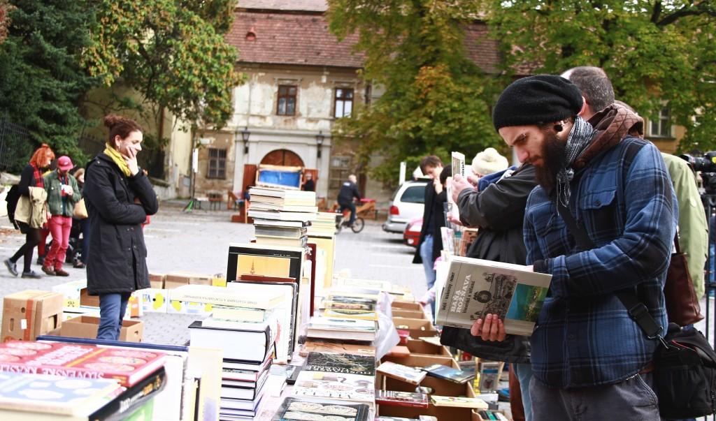 Súčasťou trhu je aj knižná burza