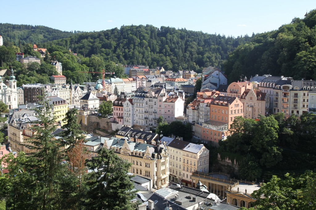 Karlove Vary sú nádherné historické mesto