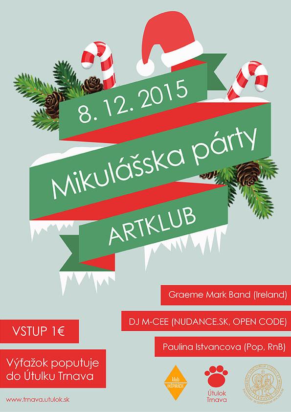Mikulášska párty FSV UCM