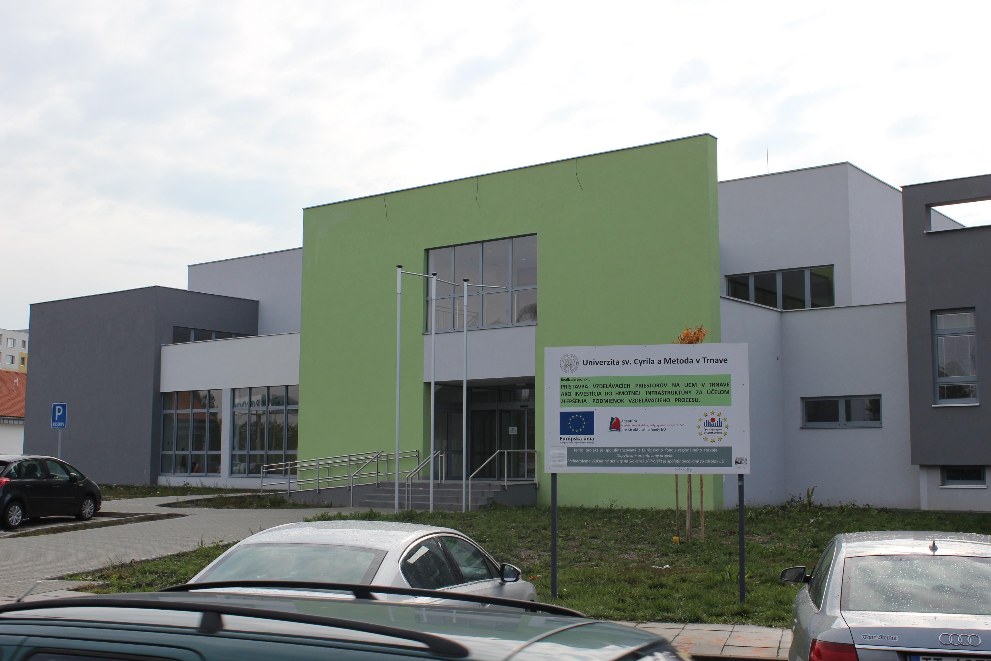 UCM sa môže pýšiť najkrajšou aulou na Slovensku!