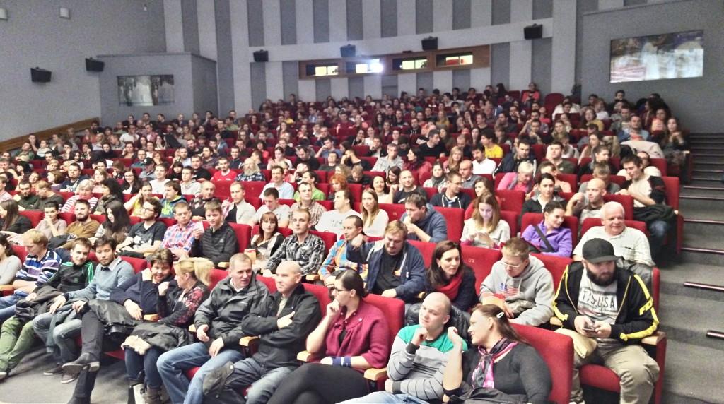 Cestovateľské kino v trnavskej Hviezde je zakaždým vypredané.