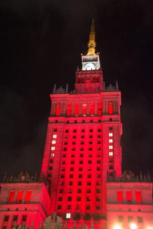 Varšava, Pałac Kultury i Nauki
