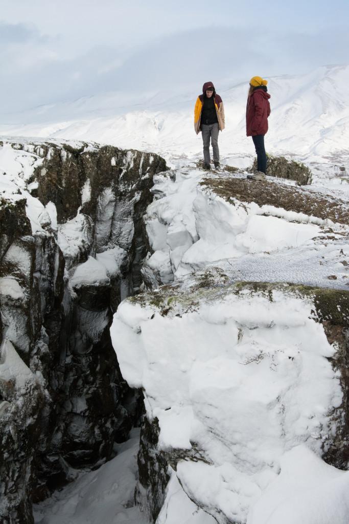 Þingvellir, miesto kde sa oddeľujú svetadiely