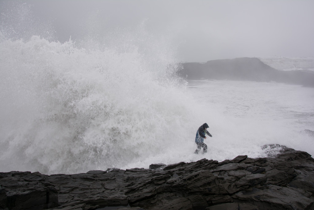 Šaňa zalieva Atlantický oceán