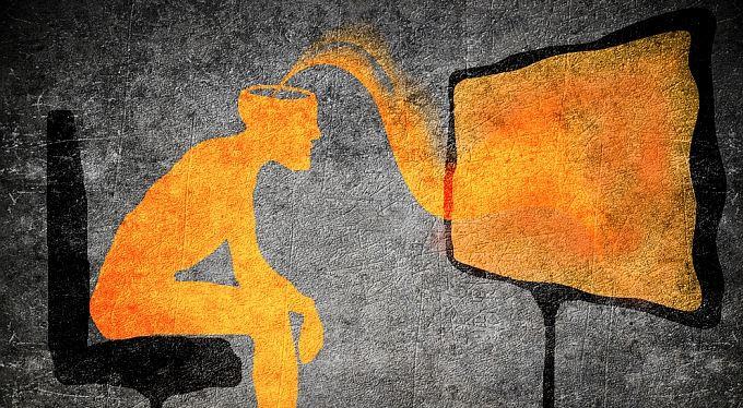Podprahová reklama – reklama, ktorú nevidno