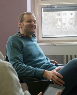 Boris Brendza s typickým úsmevom