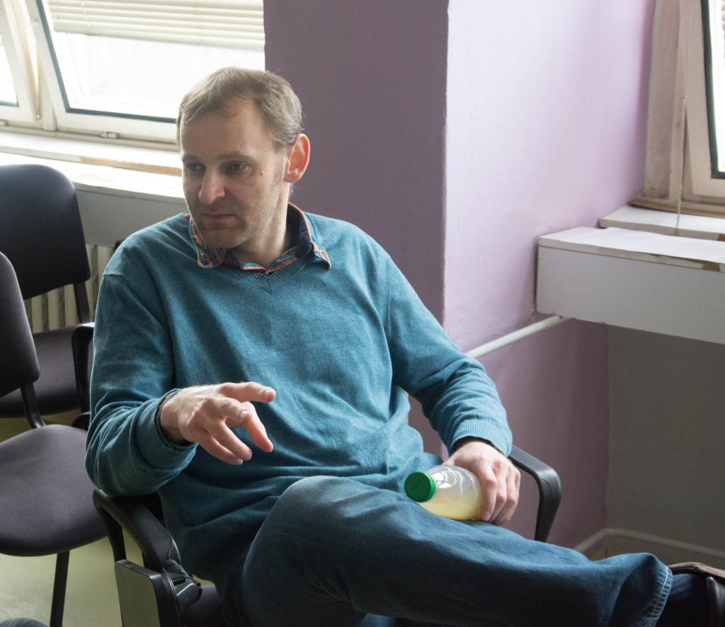 Boris Brendza si na nás našiel čas počas voľna medzi prednáškami
