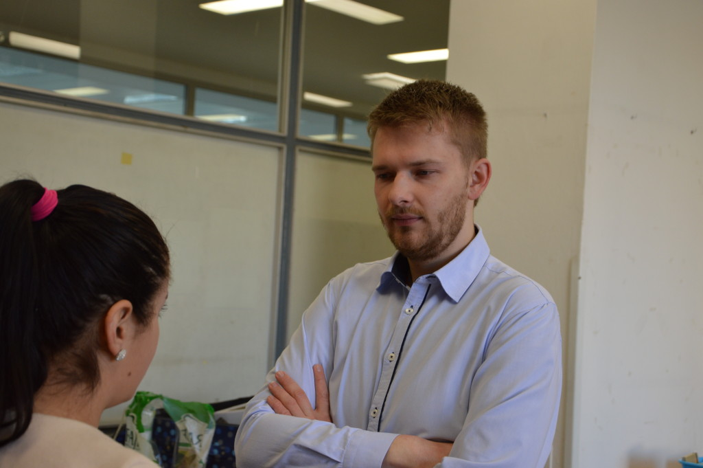 """Organizátor Ľubomír Blišák: """"K organizovaniu som sa dostal vďaka mojej bakalárskej práci, kedy som rozvíjal problematiku darovania krvi a nedostatok darcov."""""""