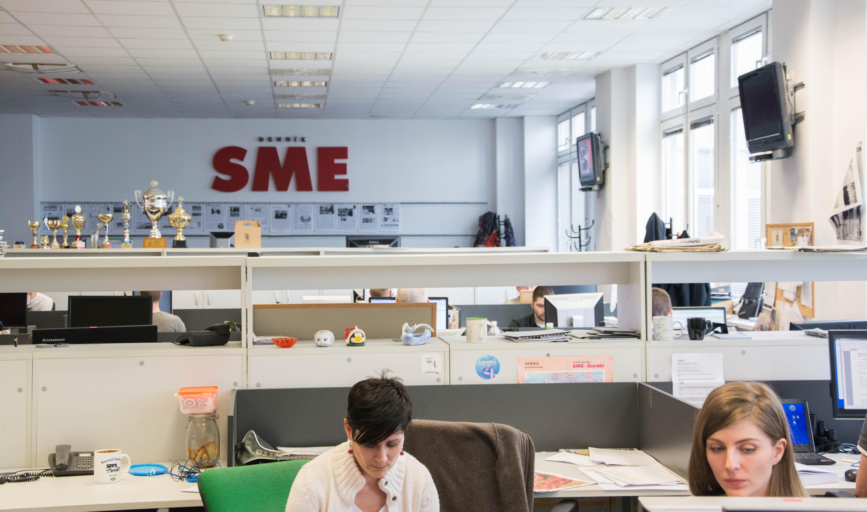 Redakcia denníka SME