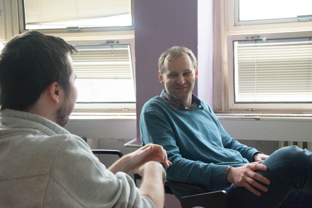 Počas rozhovoru s Borisom Brendzom nechýbal ani smiech