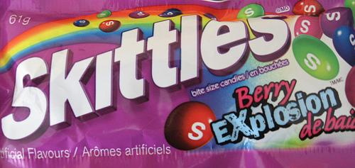Sex aj na obale cukríkov Skittles