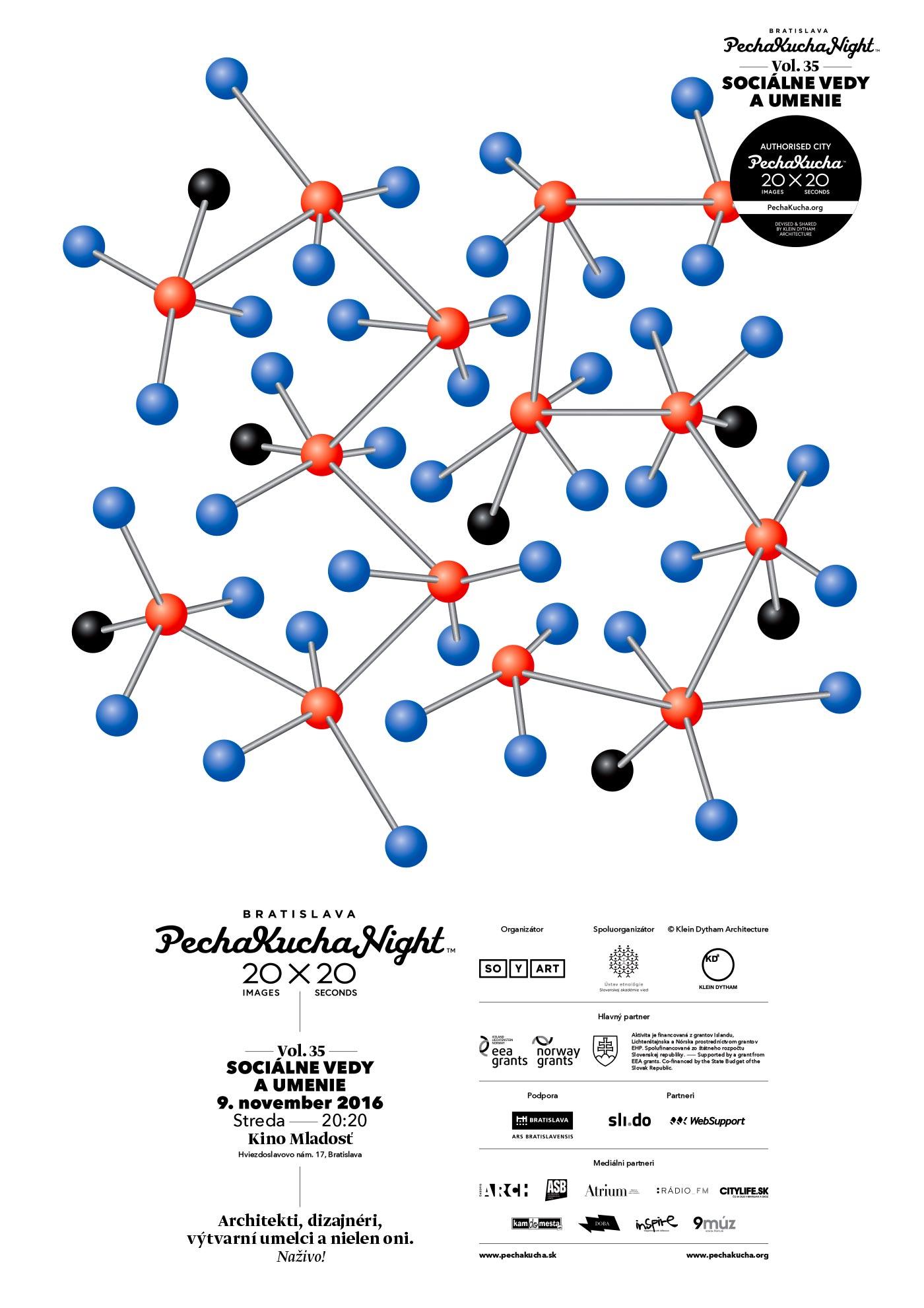 PechaKucha Night Bratislava Vol. 35: Sociálne vedy a umenie