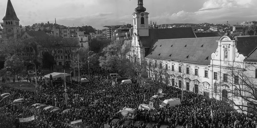 Fotoreportáž: Veľký protikorupčný pochod