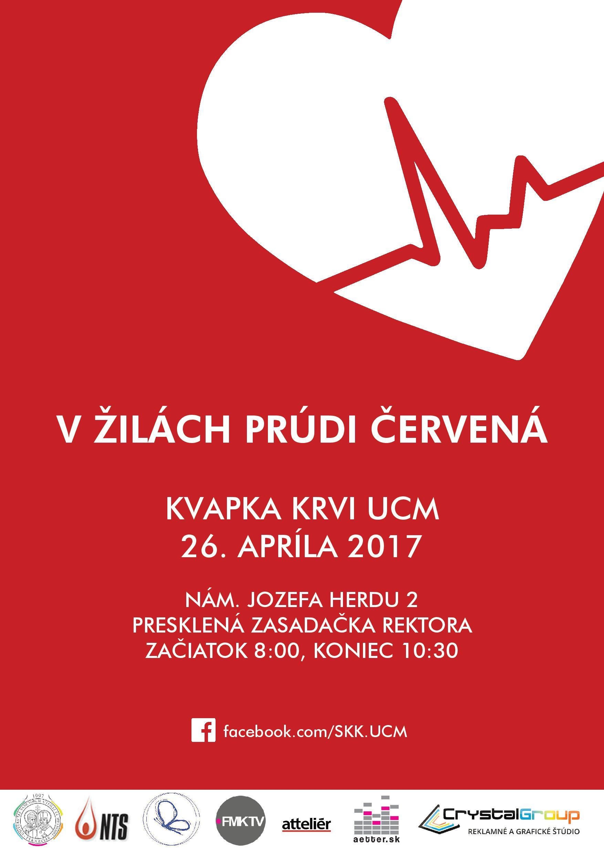 12. ročník podujatia Kvapka krvi UCM