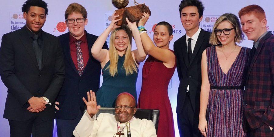 Medzinárodnú detskú cenu za mier si odniesli iniciátori Pochodu za naše životy