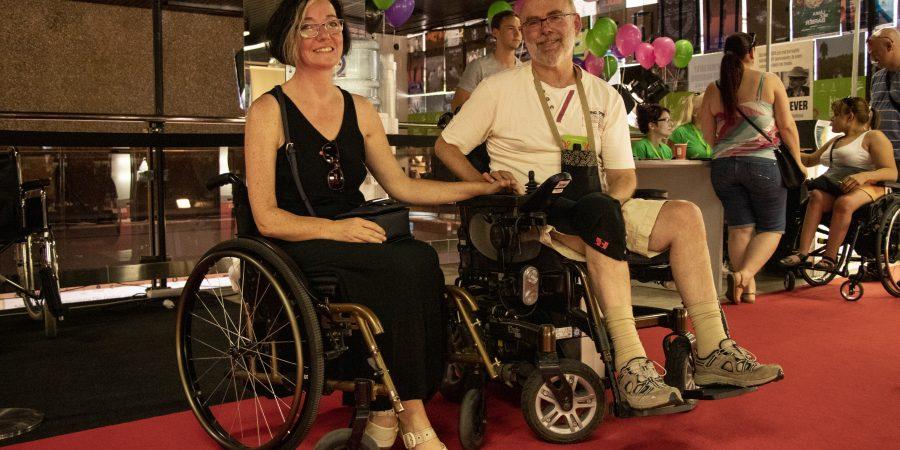 Na karlovarskom festivale majú vozíčkari a znevýhodnení ľudia rovnaký komfort ako hviezdy z Hollywoodu
