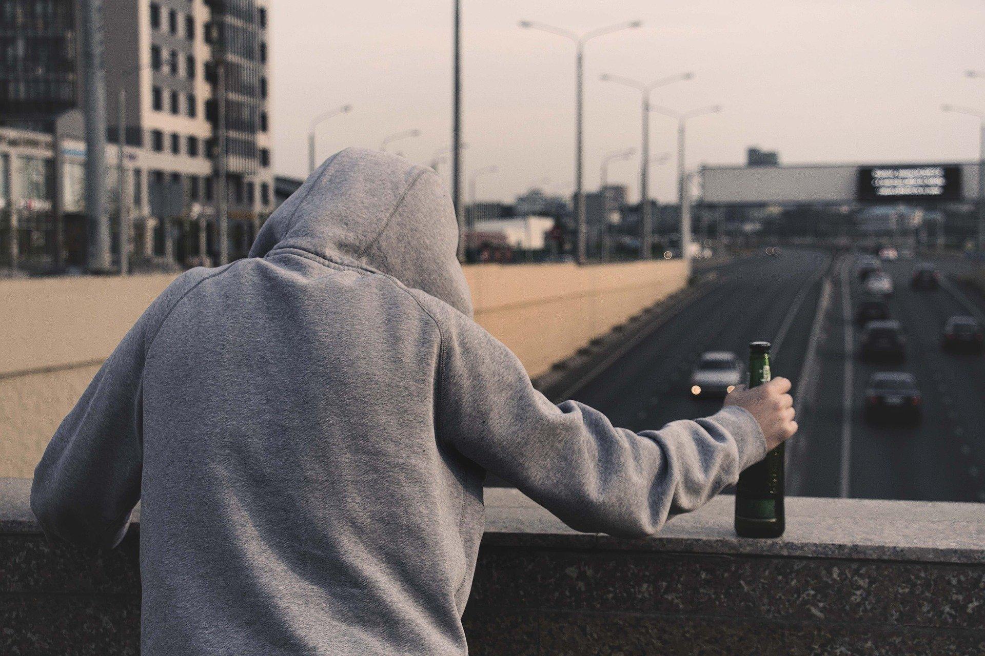 Depresia a alkohol
