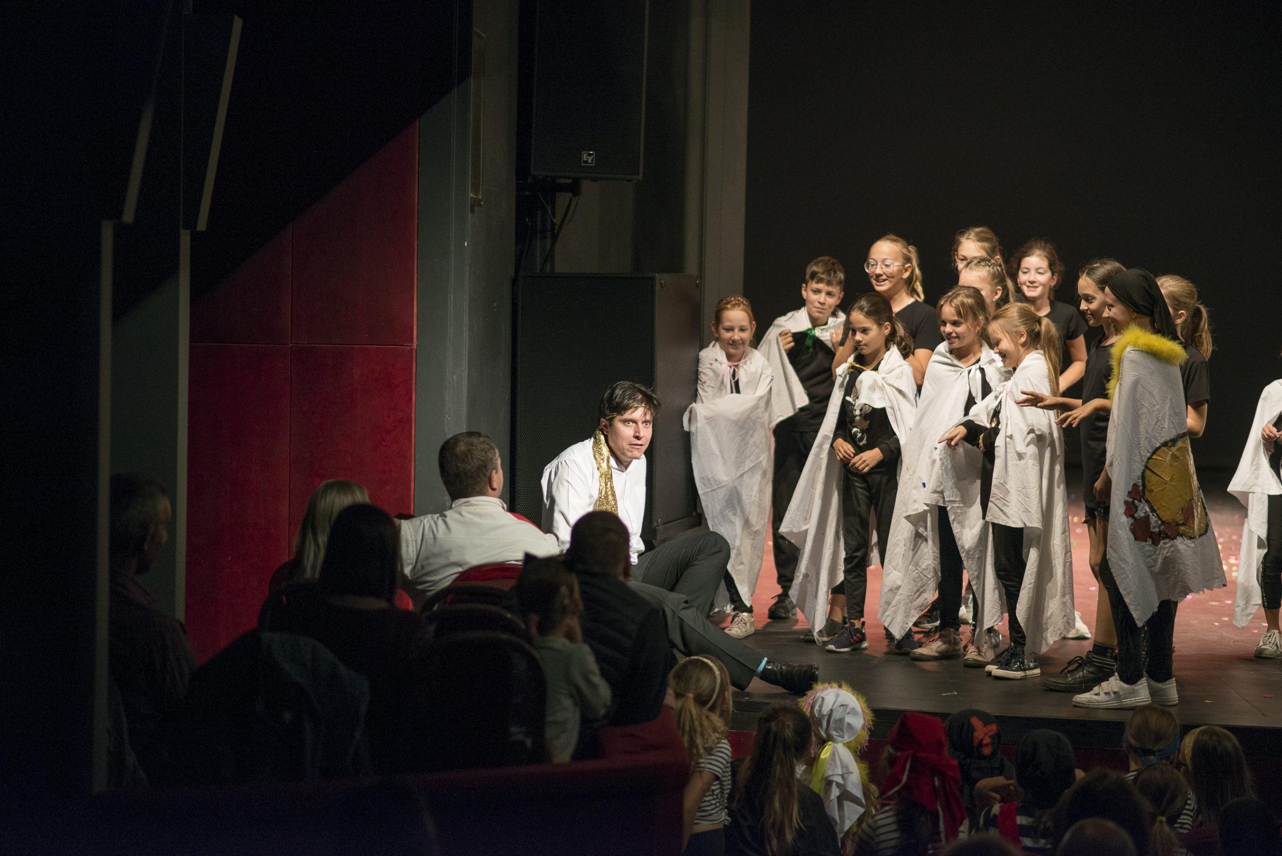djp, divadlo, deti, predstavenie, kultúra