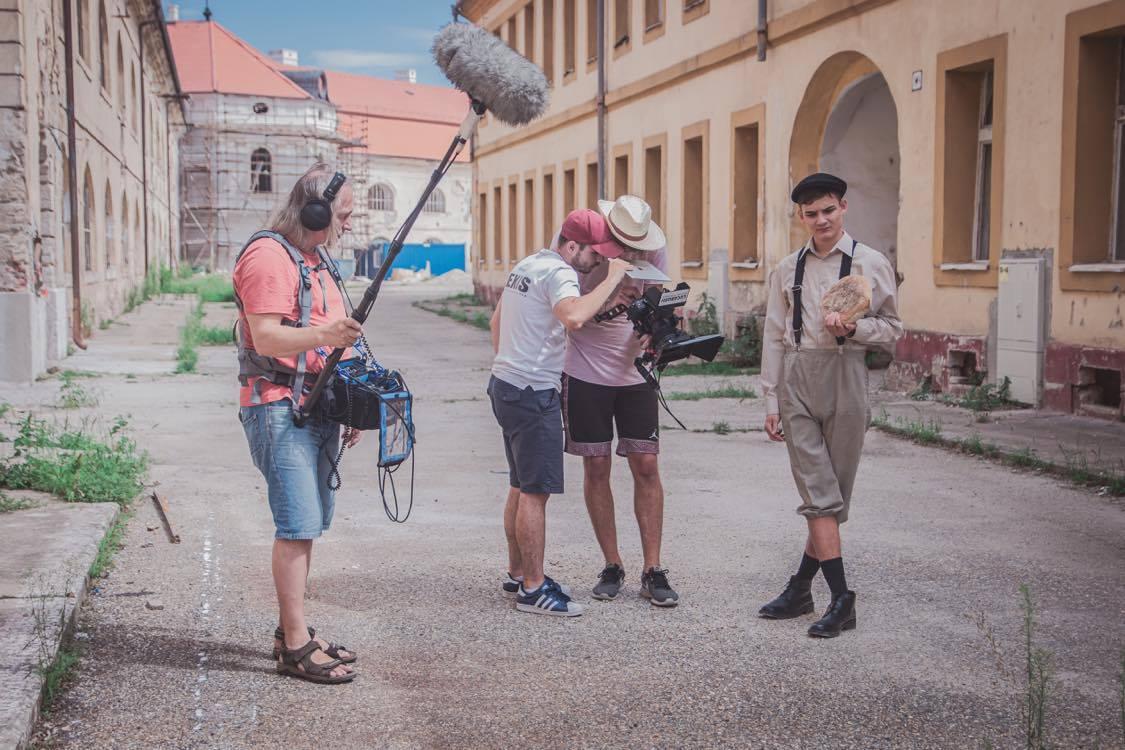 natáčanie, film Ulička