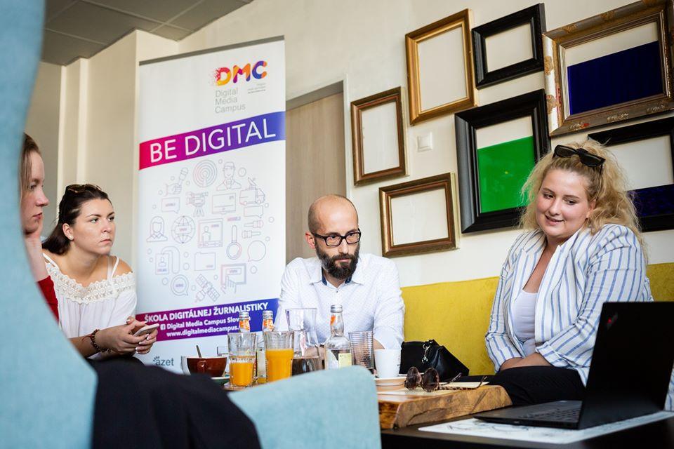 dmc be digital stretnutie ľudia
