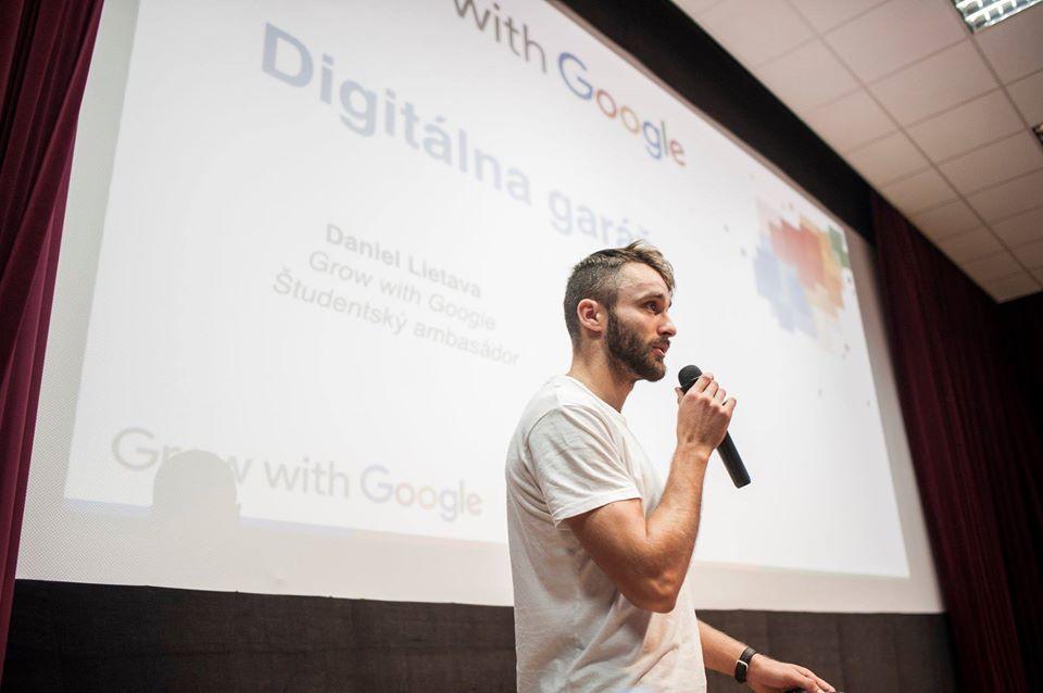 Prax na FMK v rámci spolupráce Grow with Google Slovensko