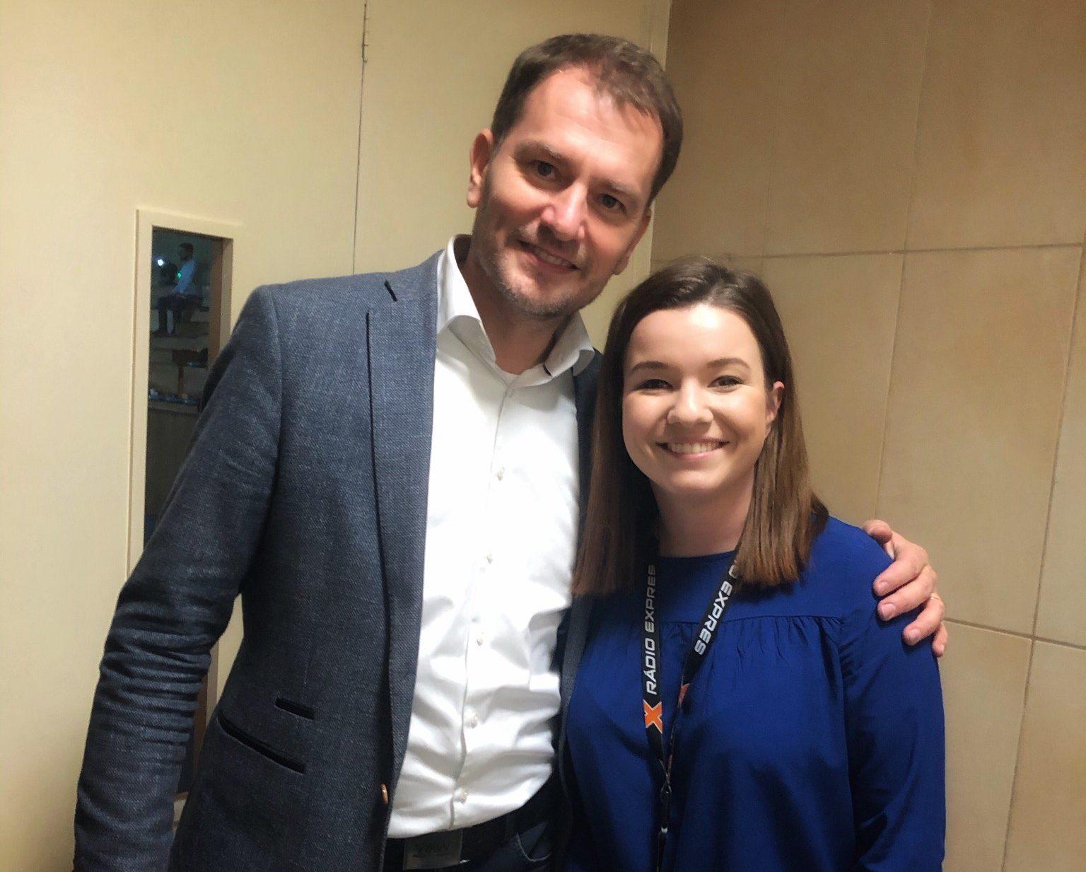 Martina Stanovčáková a Igor Matovič