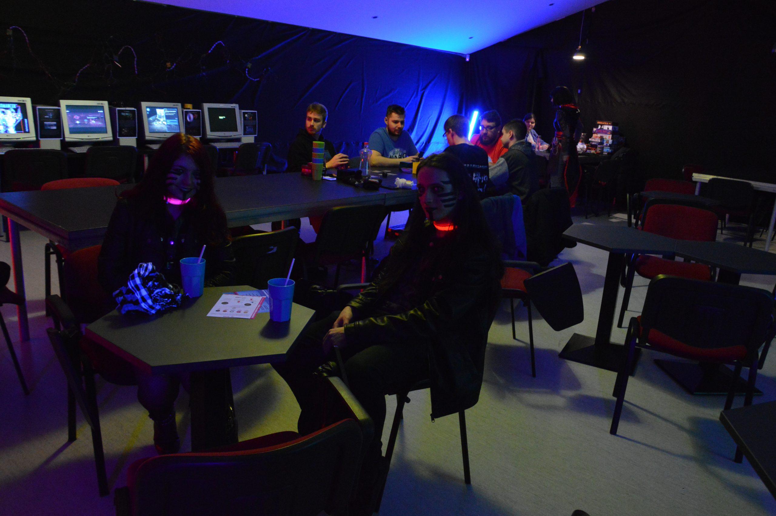 Cyber-bar na tohtoročnom UniCone. Zdroj: Daniel Bíro