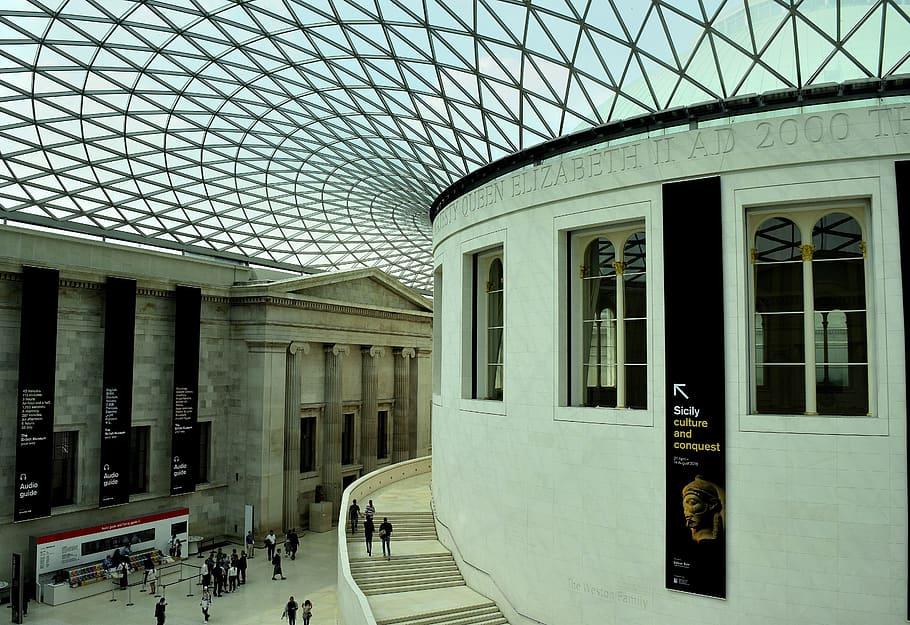 atteliér britské múzeum virtuálne prehliadky