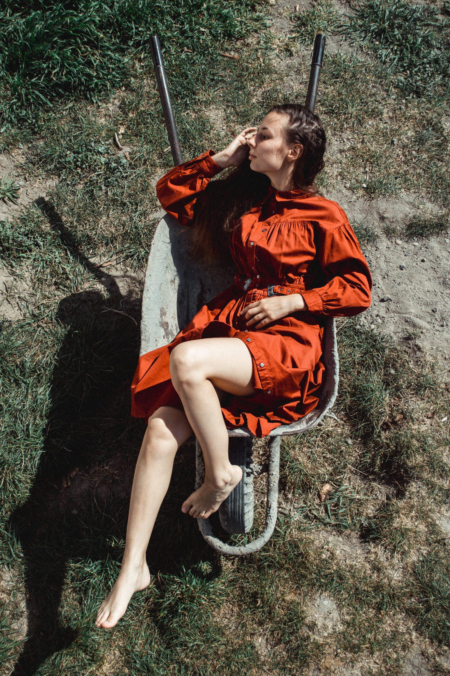 šaty fúrik záhrada