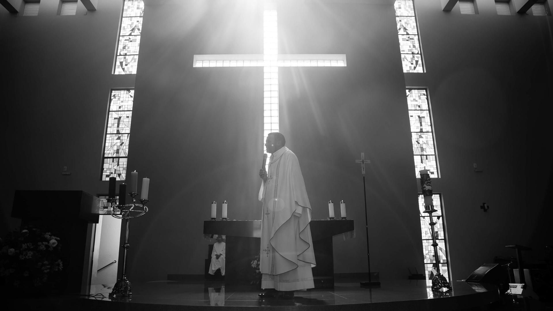 svätá omša v čase korony