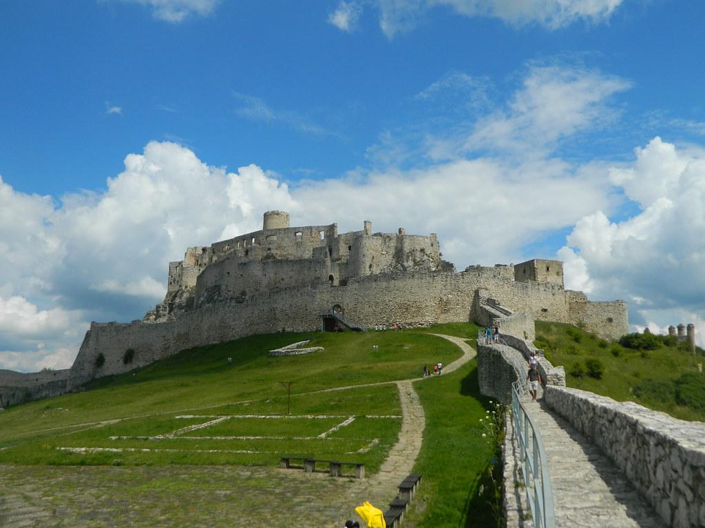 virtuálne prehliadky spišský hrad
