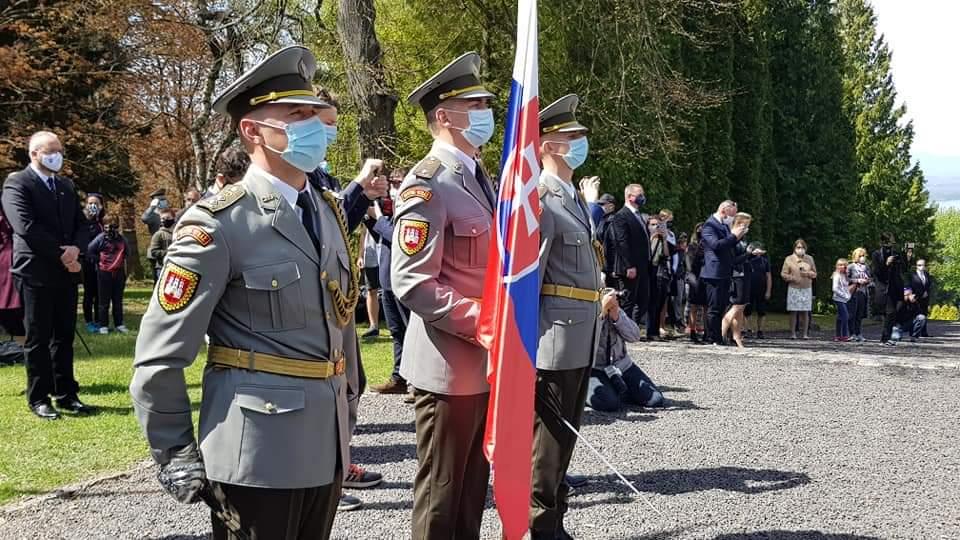 vojenský cintorín Deň víťazstva nad fašizmom