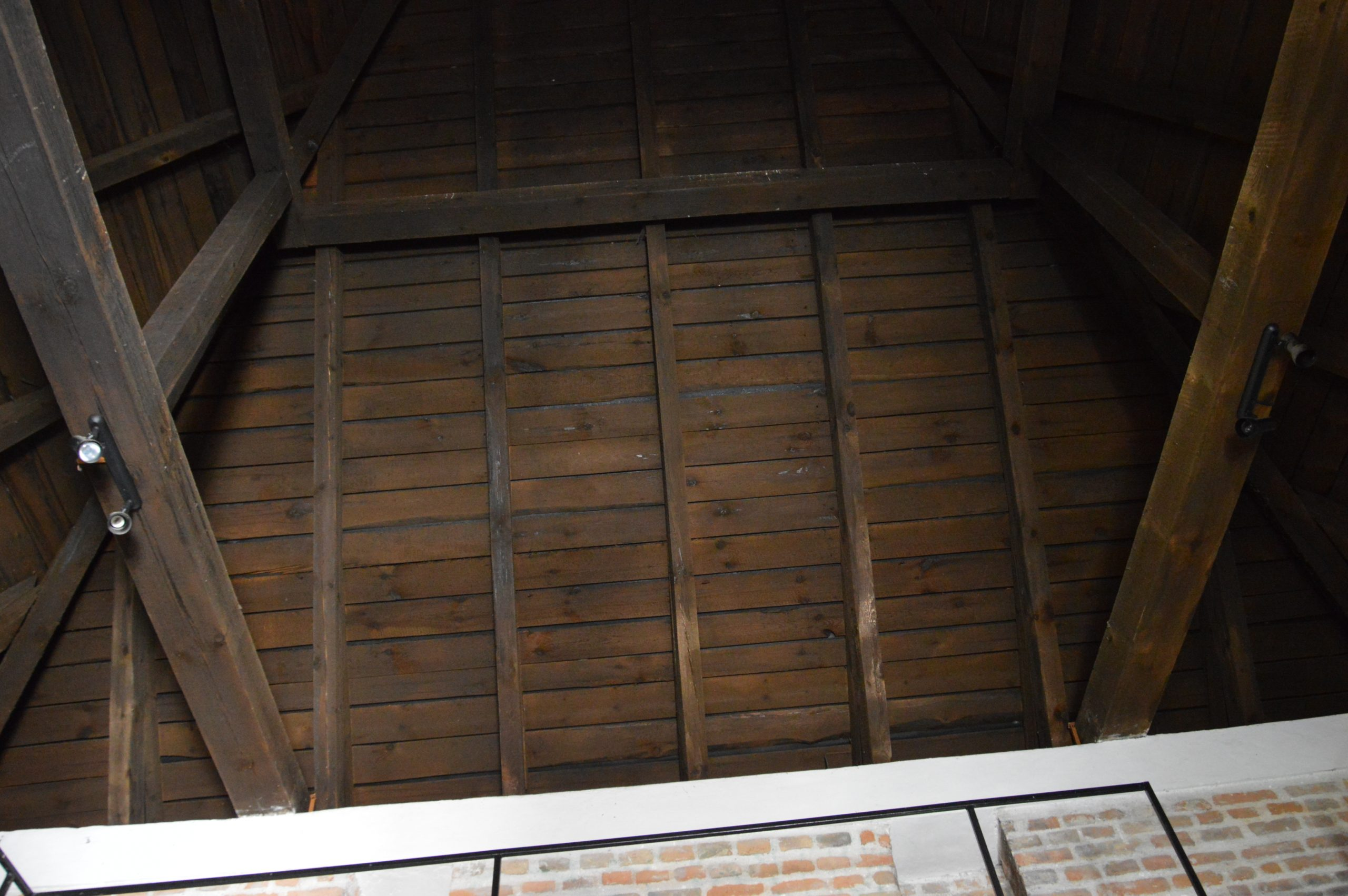 Časť strechy, ktorá bola pridaná dodatočne.